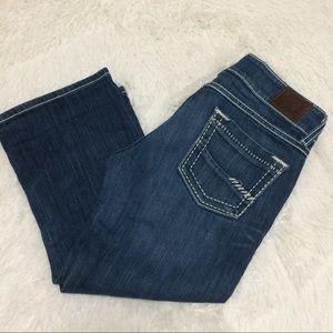 BKE starlite Capri jeans